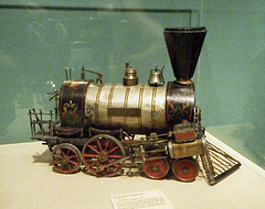 Mechanical Train Toy