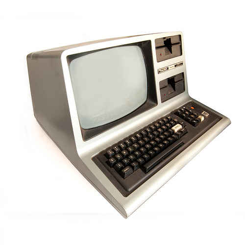 TRS-80 Model III by Easterbilby