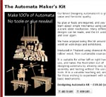 The Automata Maker Kit Site