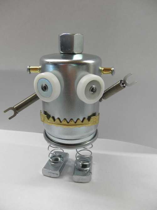 how to make tin robots retro toys